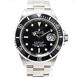 【中古】ロレックス サブマリーナ デイト 腕時計 ステンレス 自動巻き 黒文字盤 16610 K番