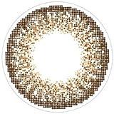 loveil( ラヴェール )【 ブラウンミラージュ 】 カラコン 1day 1箱30枚入 14.2mm 【 度なし 】 【PWR】±0.00(度なし)