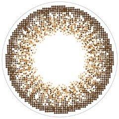 ライズアップのloveil アクアリッチ ブラウンミラージュ 30枚 ±0.00に関する画像1