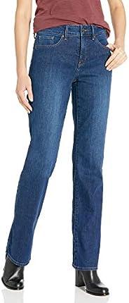 NYDJ Women Marilyn Straight Leg 16, Blublk
