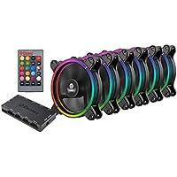 ENERMAX T.B.RGB 12cmファン 6個パック RGB LED搭載 UCTBRGB12-BP6