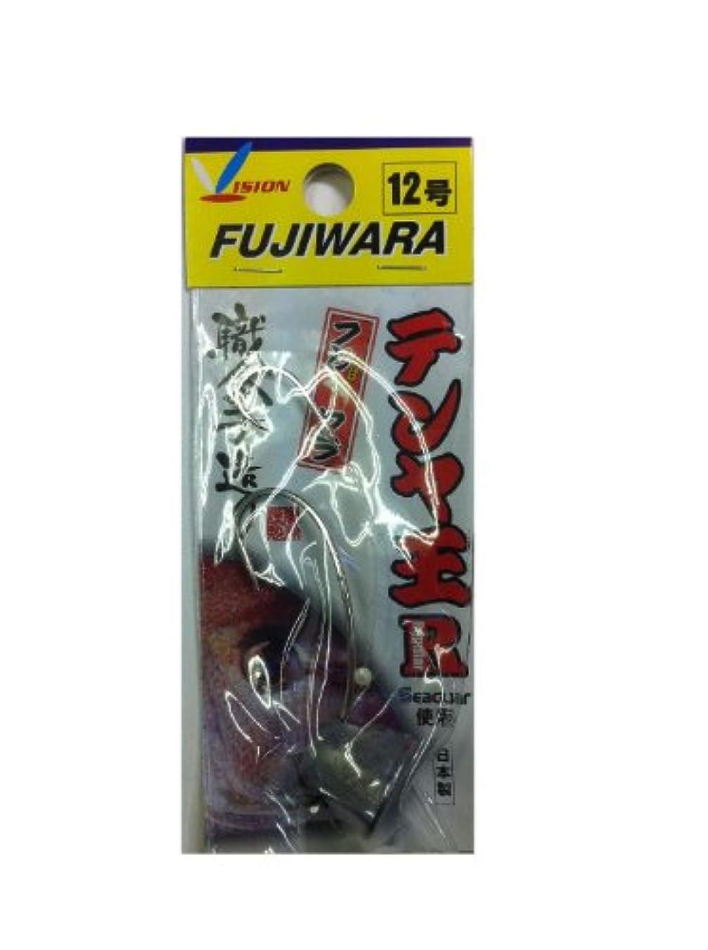 痴漢なだめる放置フジワラ(FUJIWARA) テンヤ王R(レギュラー) 12号ムク
