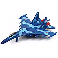 NOQ 高シミュレーションダイキャストキャリア 飛行機模型玩具 35戦闘機模型玩具 車玩具 ブルー