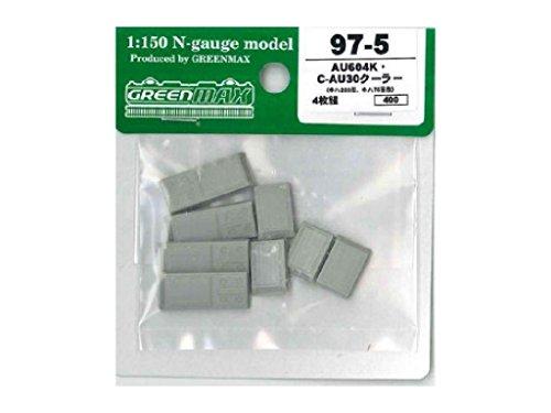 Nゲージ 97-5 AU604K/C-AU30クーラー (キハ200形/キハ75形) (4枚組)