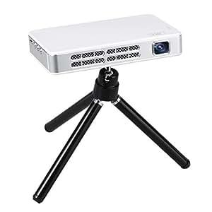 Koolertron HDMIモバイルプロジェクター HD小型ホームプロジェクター 200ルーメン/ HDMI対応 / HD720P (1280×800)