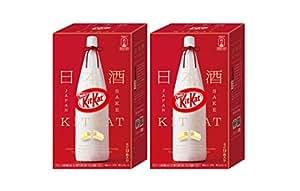 2箱セット ネスレ日本 キットカット ミニ 日本酒 満寿泉 9枚