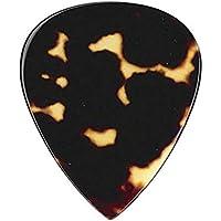 Greco グレコ / ギターピック 本鼈甲 ベッコウ ティドロップ (厚さ 0.8mm) [ TD 0.8 ]