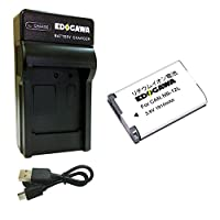 EDOGAWA NB-12L 互換バッテリー+USB充電器セット CANON キャノン(ED-BAT+USB)