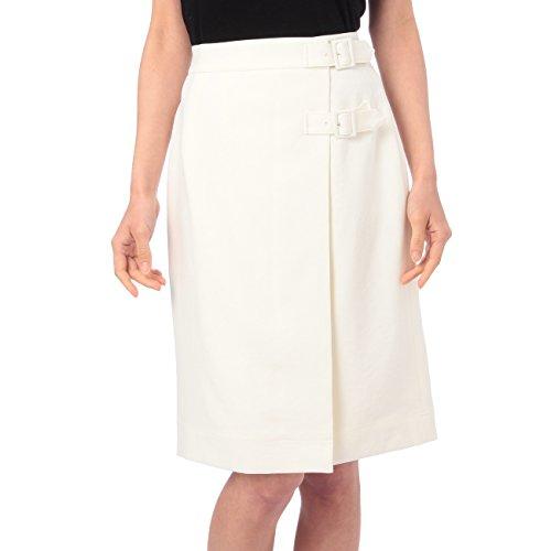 (ミニマム)MINIMUM リネン風ラップスカート ホワイト(001) 01(S)