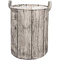 ポータブルビーム口ランドリーバスケットコットンリネン折り畳み式汚れたハンパー服雑貨の収納バスケット、39 * 50センチメートル