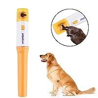 ペットの犬の犬の猫グルーミンググラインディングPainlessネイルグラインダートリマークリッパー