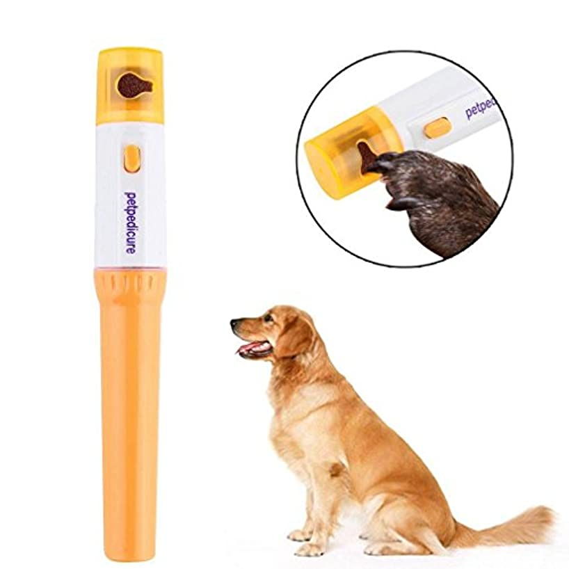 高揚した測定ずんぐりしたペットの犬の犬の猫グルーミンググラインディングPainlessネイルグラインダートリマークリッパー