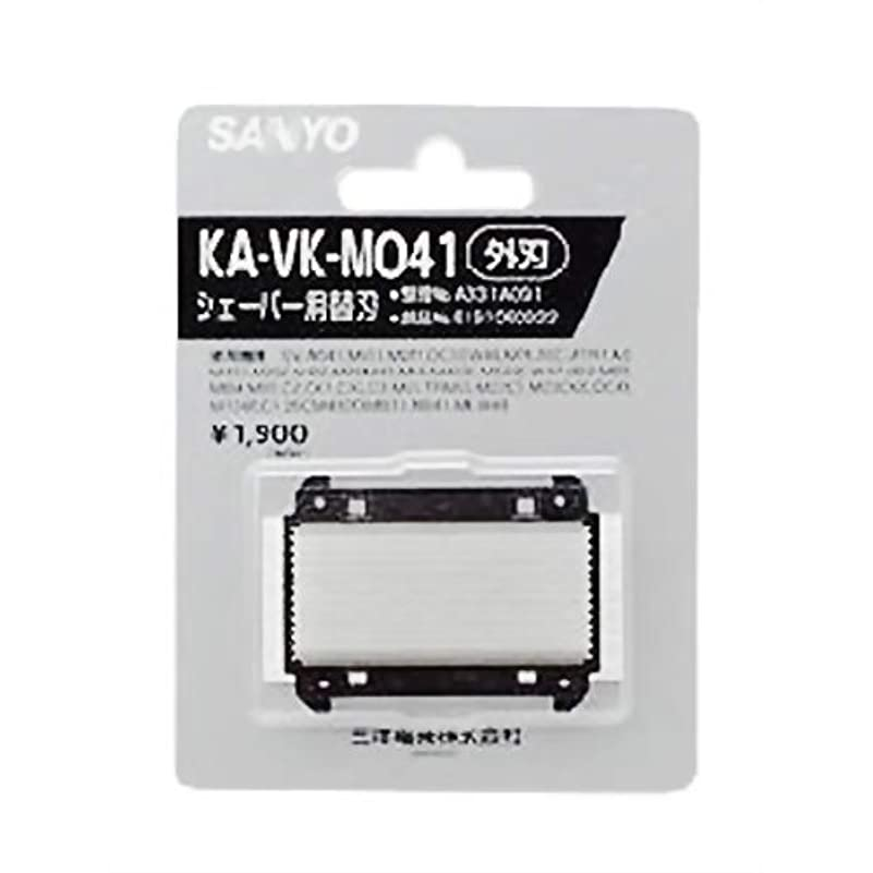 トピック業界和SANYO シェーバー用替刃 外刃 KA-VK-M041