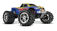 Traxxas T-Maxx Classic: 1/10-Scale Nitro-Powered 4WD Monster Truck with TQ 2.4GHz radio, Blue [並行輸入品]