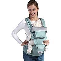 Relohas 抱っこひも ベビーキャリア おんぶ 通気性がよい 装着簡単 新生児から使用可能 出産祝い