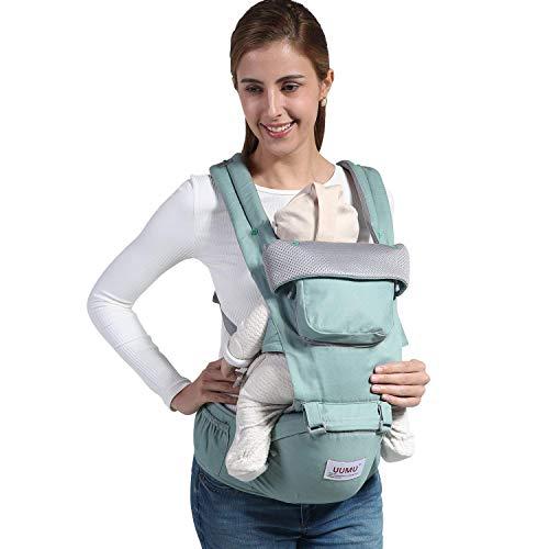 Relohas 抱っこひも ベビーキャリア おんぶ 通気性がよい 装着簡単 新生児から使用可能 アダプト 出産祝い
