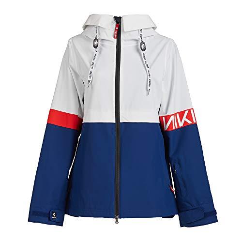ニキータ(ニキータ) ボードジャケット NK19LINDAN JK WHT (ホワイト×ネイビー/S/Lady's)