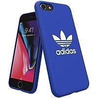 【アディダス公式ライセンスショップ】アディダスオリジナルス iPhone6/6S/7/8ケース アディカラーシリーズ TPUケース ブルー [adicolor Snap Case iPhone 6/6S/7/8 blue]