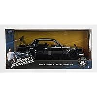 JADATOYS 99686【1/24スケール 映画ワイルドスピード ブライアン 日産 GTR / Fast & Furious - Brian's Nissan Skyline 2000 GT-R】 [並行輸入品]