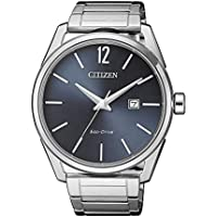 Citizen Men's Solar Powered Wrist watch, stainless steel Bracelet analog Display and Stainless Steel Strap, BM7411-83H