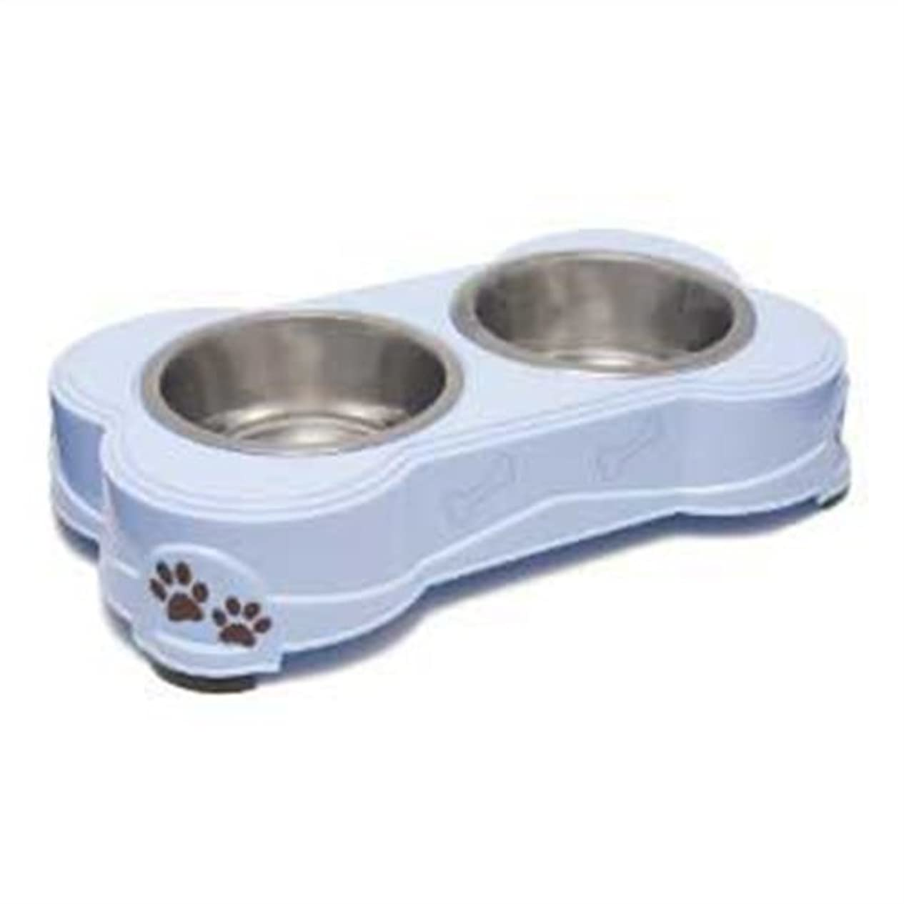 Loving Pets Dolce Diner Dog Bowl, Medium, 1 Quart, Murano ( 2 Bowl Set ) by Loving Pets