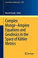 Complex Monge–Ampère Equations and Geodesics in the Space of Kaehler Metrics (Lecture Notes in Mathematics)