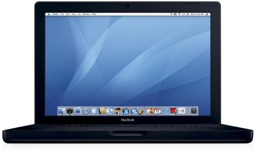 Apple MacBook Black 2.16GHz Core 2 Duo/13.3/1G/160G/8x SuperDrive DL/Gigabit/BT/DVI MB063J/A