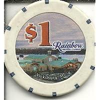 $ 1レインボーカジノ家ビクスバーグカジノチップObsolete Riverboat ?