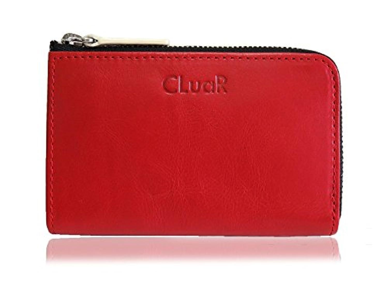 (シールアル) コンパクトウォレット 本革 革 カードも入る コインケース 小銭入れ カードケース L字ファスナー ミニ 財布 小型 バイカラー 全10色 CLuaR-WL