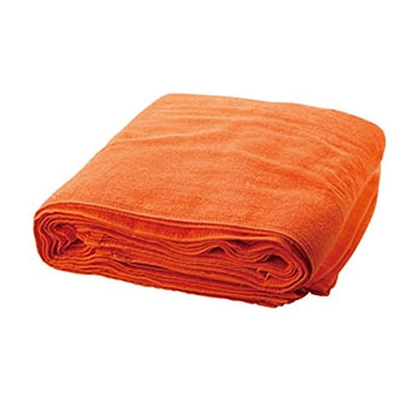 最初にピジン風邪をひくフローラ パーフェクトカラータオル250匁 (12枚入) オレンジ