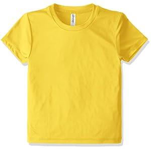 [グリマー] 半袖 3.5オンス インターロック ドライ Tシャツ 00350-AIT_K デイジー 150cm (日本サイズ150相当)
