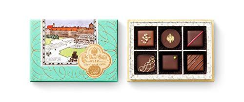 デメル DEMEL セレクション チョコレート ショコラ (Truffe6トリュフ 6粒入 キャラクター チョコボール セット)