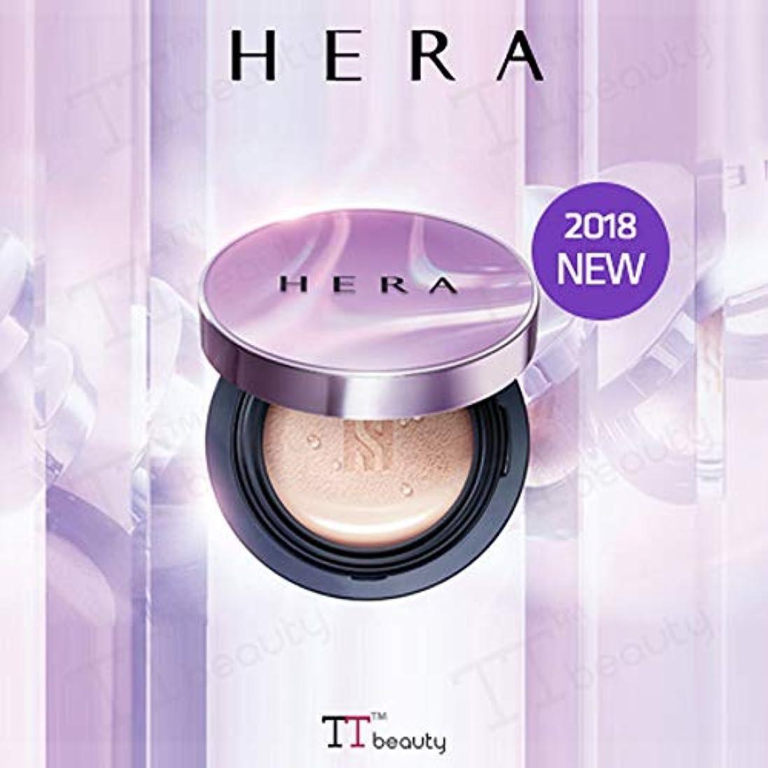 放置飼いならす主流[HERA/ヘラ]UVミストクッションカバー(15gx2)/UV MIST CUSHION COVER SPF50+/PA+++[2018新発売][TTBEAUTY][韓国コスメ] (No.C13-Ivory cover)