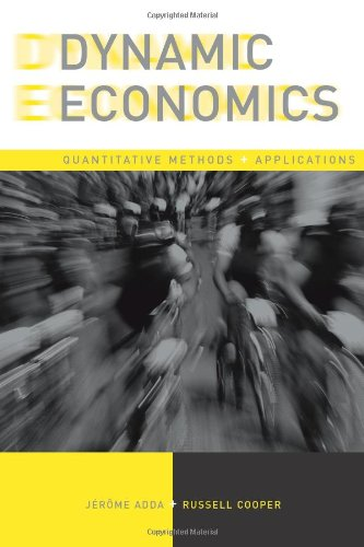 Dynamic Economics: Quantitative Methods and Applications (The MIT Press)の詳細を見る