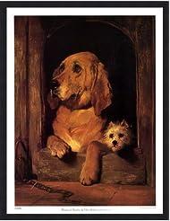 尊厳とImpudence by Sir Edwin Henry Landseer – 20 x 26インチ – アートプリントポスター LE_44358-F101-20x26