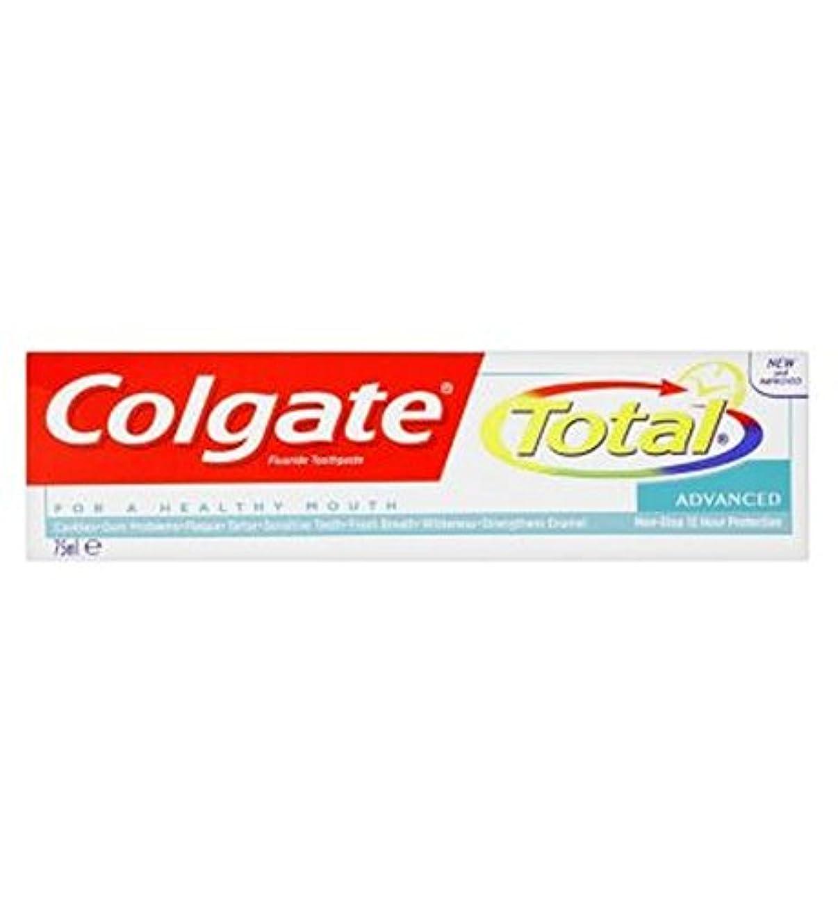 タイマー習字味わうコルゲートトータル高度な歯磨き粉75ミリリットル (Colgate) (x2) - Colgate Total Advanced toothpaste 75ml (Pack of 2) [並行輸入品]