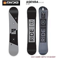 (ライド)RIDE 16年モデル ride-1612 スノーボード AGENDA BK アジェンダ/ 日本正規品