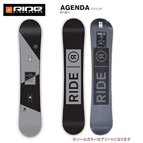 (ライド) RIDE 16年モデル ride-1612 スノーボード AGENDA BK アジェンダ/日本正規品 152