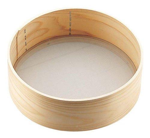 遠藤商事 木枠そば粉フルイ(60メッシュ) 9寸 BKN2302