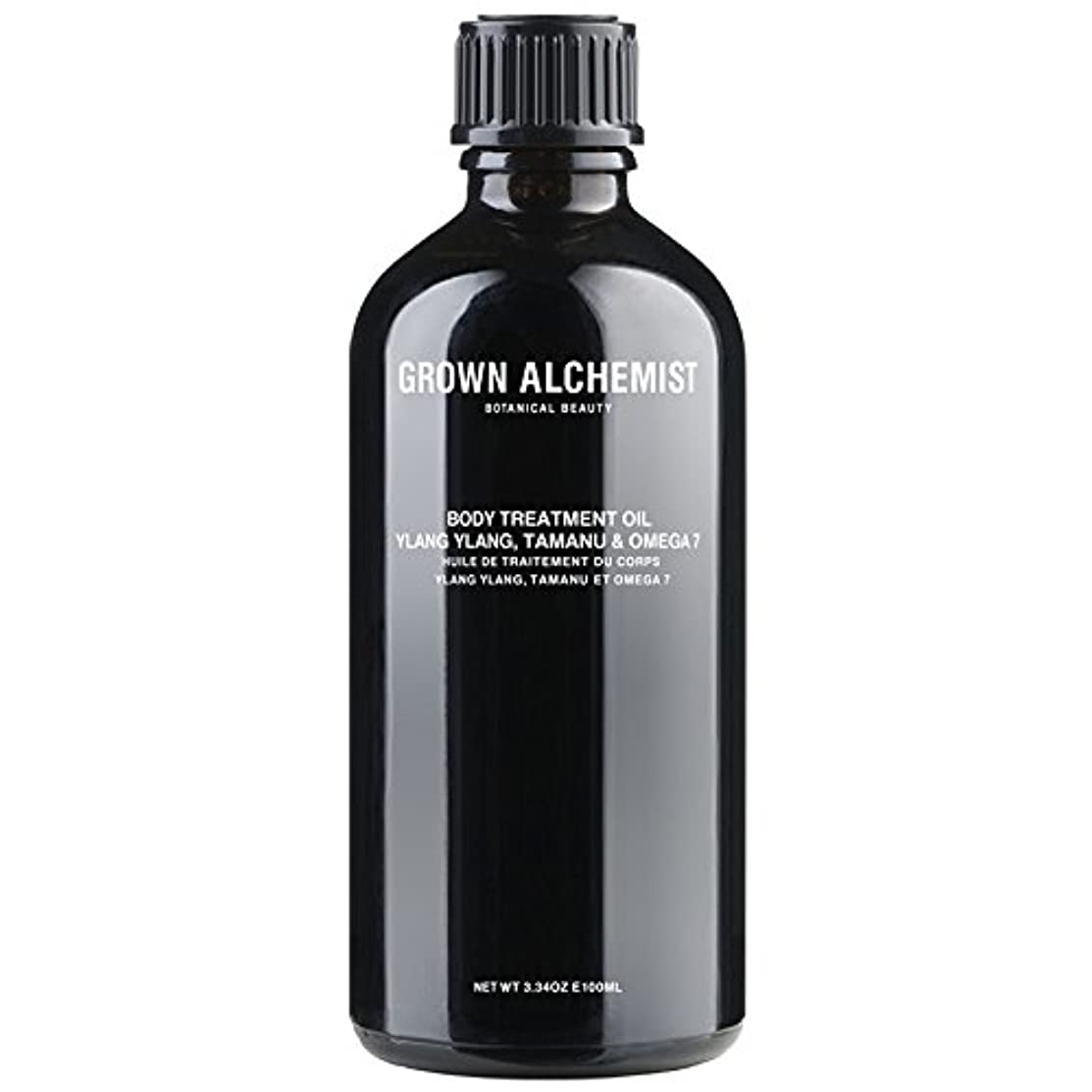加入モルヒネ暴行Grown Alchemist Body Treatment Oil - Ylang Ylang, Tamanu & Omega 7 100ml/3.34oz並行輸入品