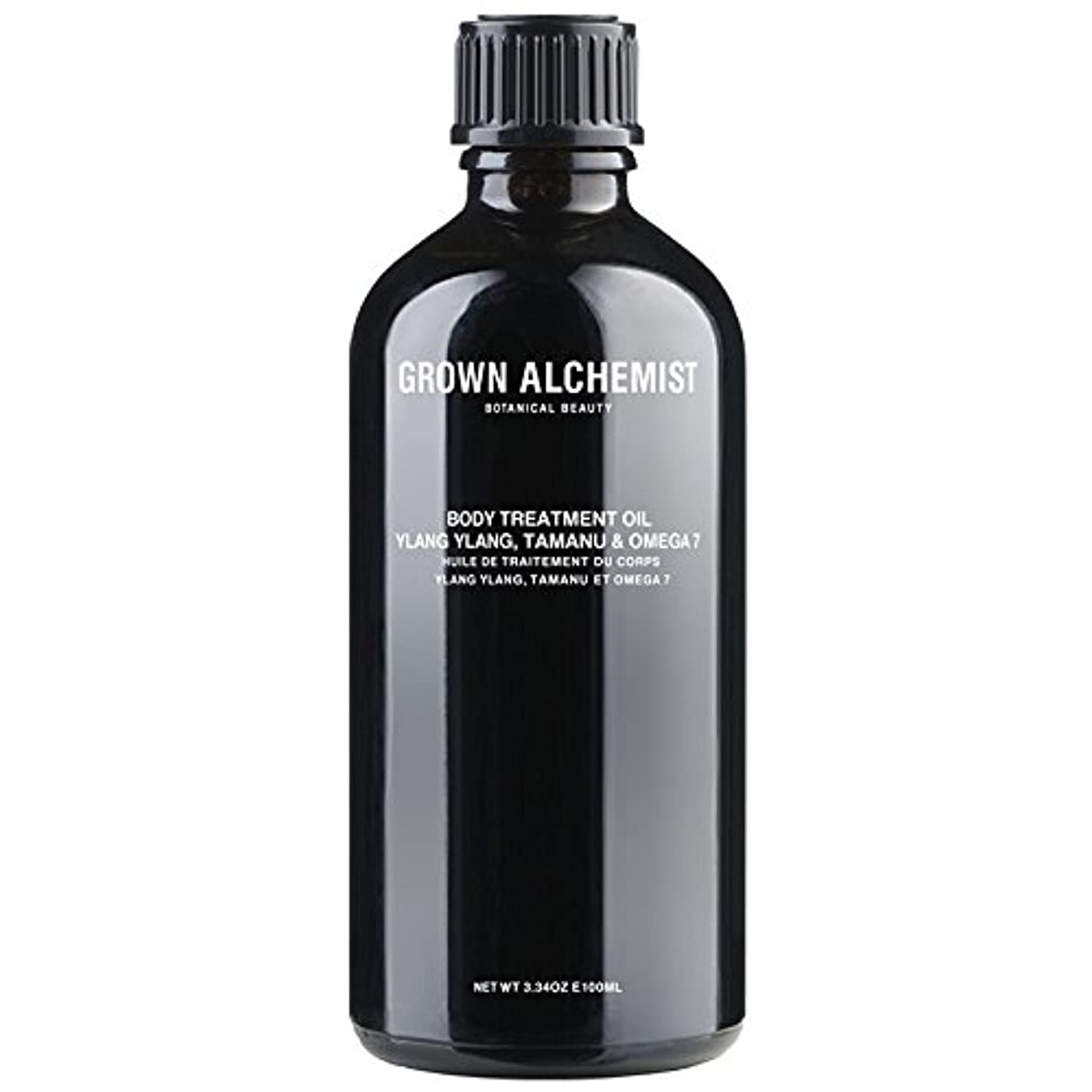 Grown Alchemist Body Treatment Oil - Ylang Ylang, Tamanu & Omega 7 100ml/3.34oz並行輸入品
