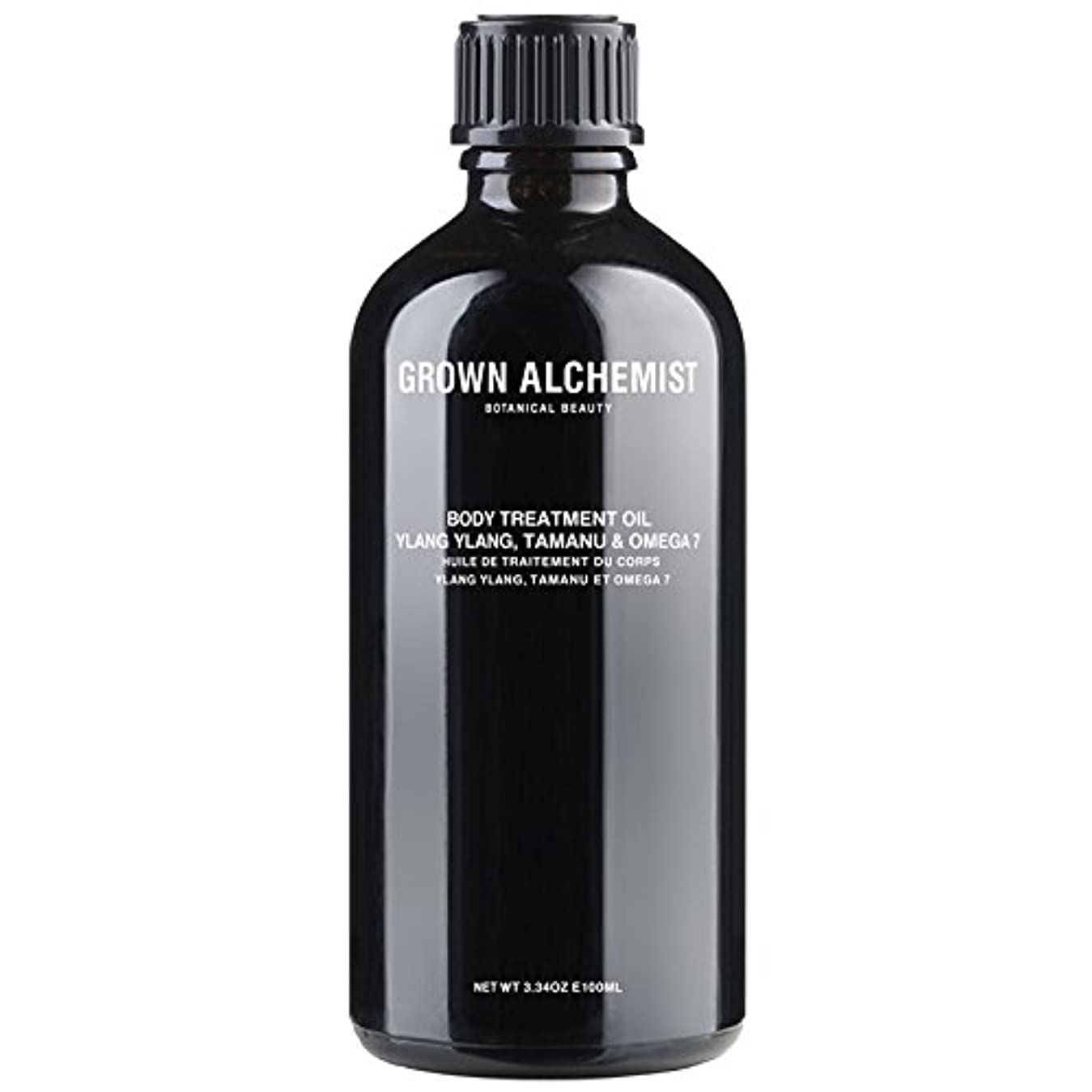 Grown Alchemist Body Treatment Oil - Ylang Ylang, Tamanu & Omega 7 100ml/3.34oz並行輸入品