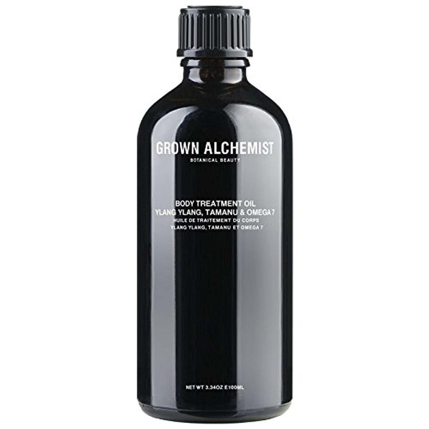スラック自動車ペレグリネーションGrown Alchemist Body Treatment Oil - Ylang Ylang, Tamanu & Omega 7 100ml/3.34oz並行輸入品