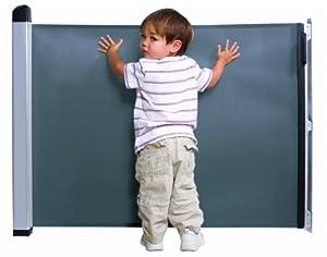 ラスカル キディガード 階段上設置可能 ロール式 ゲート バリアフリー フリーサイズ アヴァント ブラック