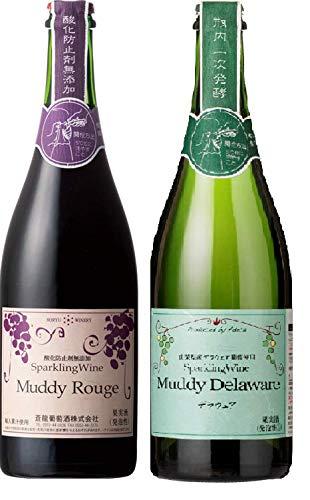 アデカ マディスパークリングワイン赤白セット瓶750ml×2