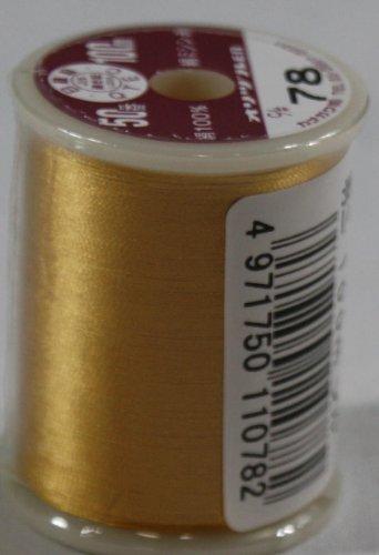 オリヅル絹ミシン糸  50番 100m  78