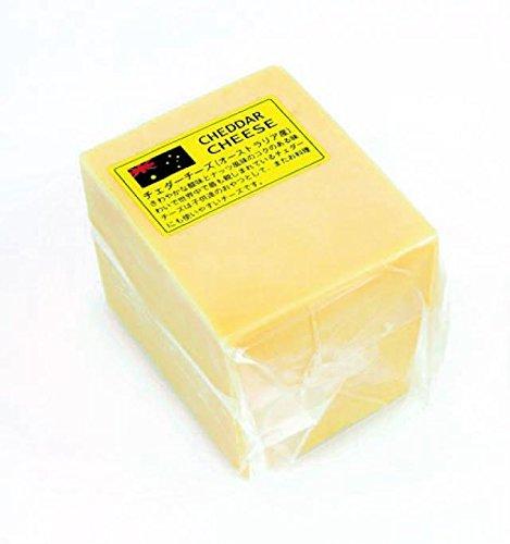 三祐 オーストラリア産 ホワイトチェダーチーズ 1kgカット