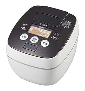 タイガー 炊飯器 圧力IH 「炊きたて」 クールホワイト 5.5合 JPB-G101-WA