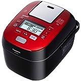 パナソニック 5.5合 炊飯器 圧力IH式 Wおどり炊き ルージュブラック SR-SPX105-RK