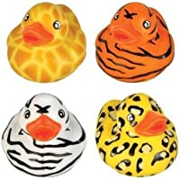 Rhode Island Novelty 2 Safari Rubber Duck (12 Piece) by Rhode Island Novelty [並行輸入品]